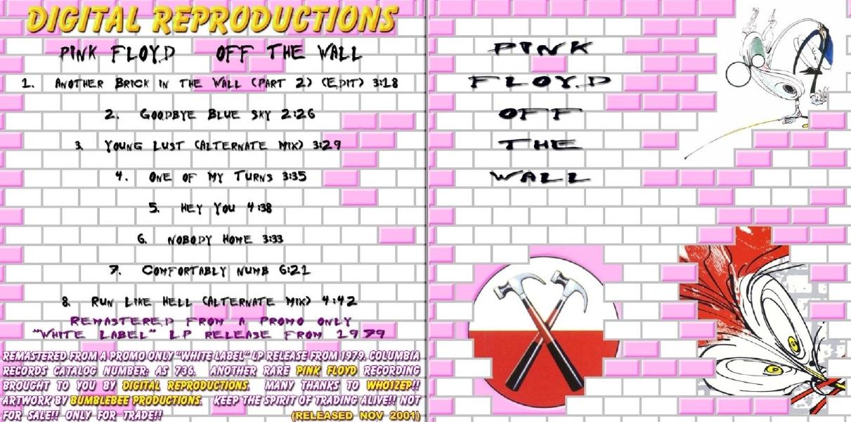 Pink Floyd - Album Artwork ROIO
