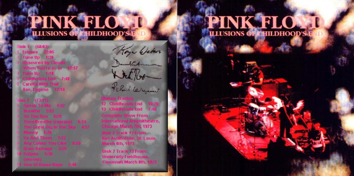 Lyric illusions lyrics : Pink Floyd - Album Artwork ROIO